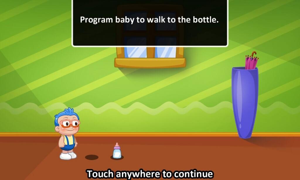 Aplikasi dilengkapi dengan panduan dan karakter yang menyenangkan.