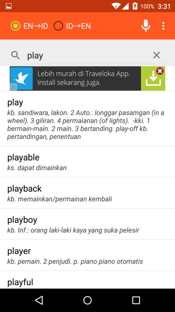 screenshot kamus bahasa inggris