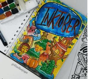 Doodle programmer aplikasi inklusif difabel tinta