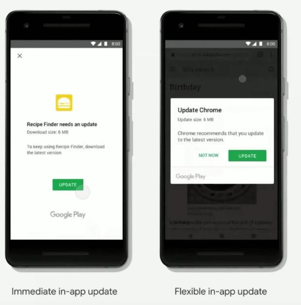 In App Update API bagi Next Billion Users