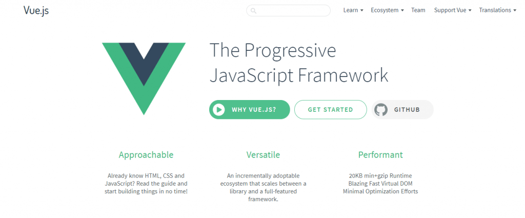 framework javascript untuk programmer web