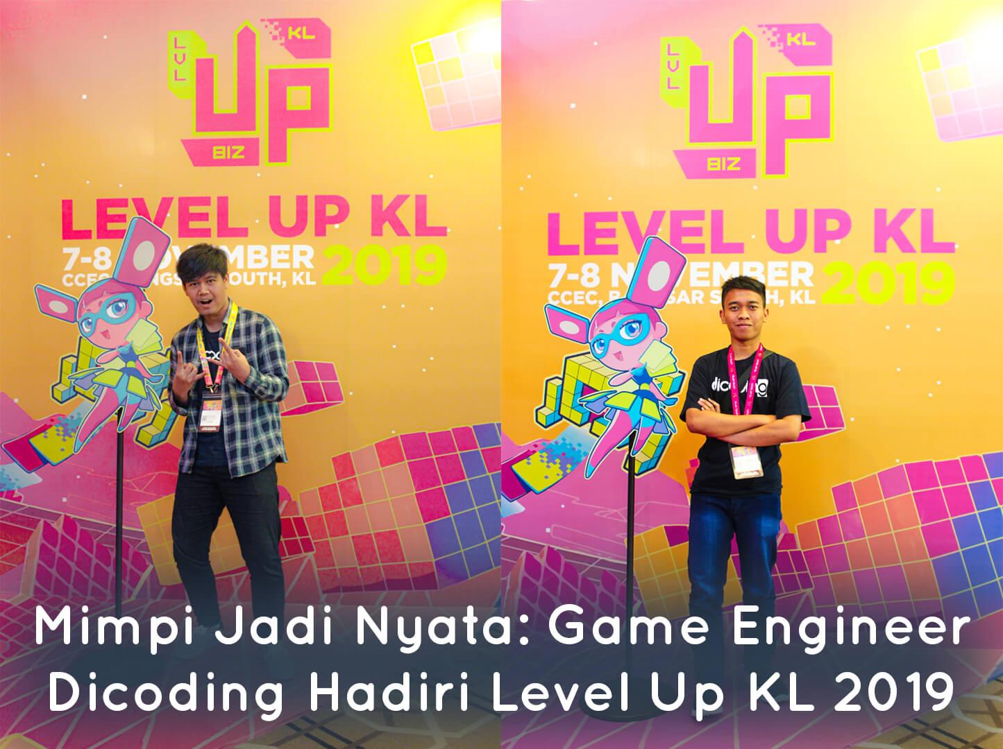 Game Engineer Dicoding Hadiri Level Up KL 2019 di Malaysia