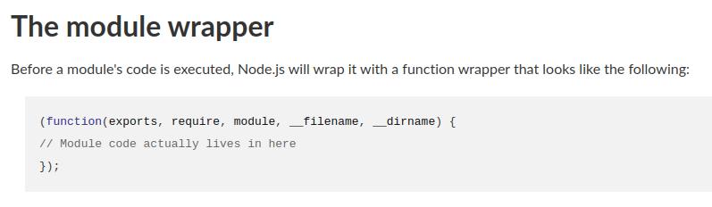 module wrapper