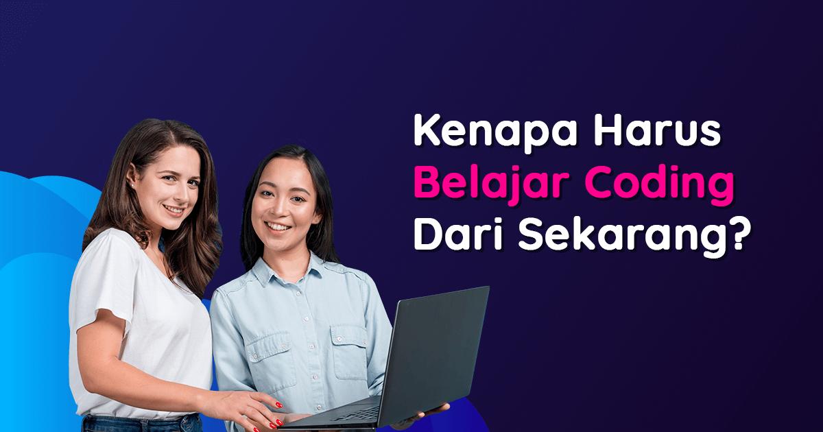 Dua perempuan yang akan belajar coding