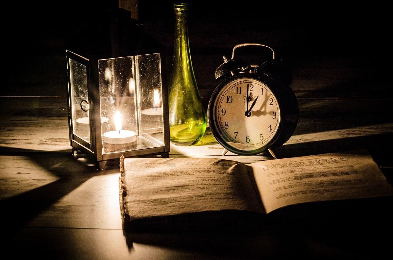 Buku di kegelapan