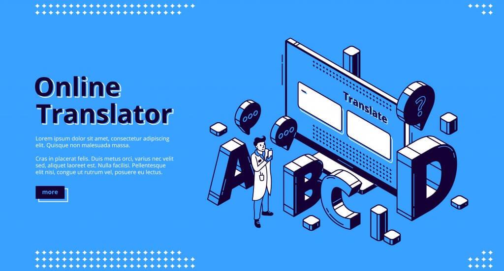 Online translator service