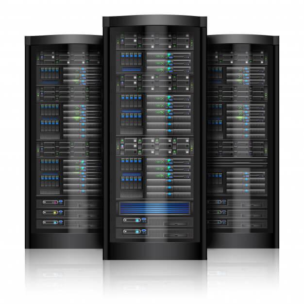 Gambar server bentuk fisik