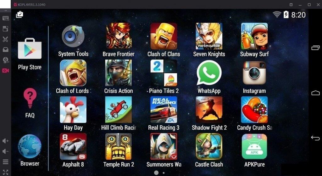 Emulator Koplayer