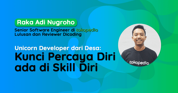 Developer percaya diri