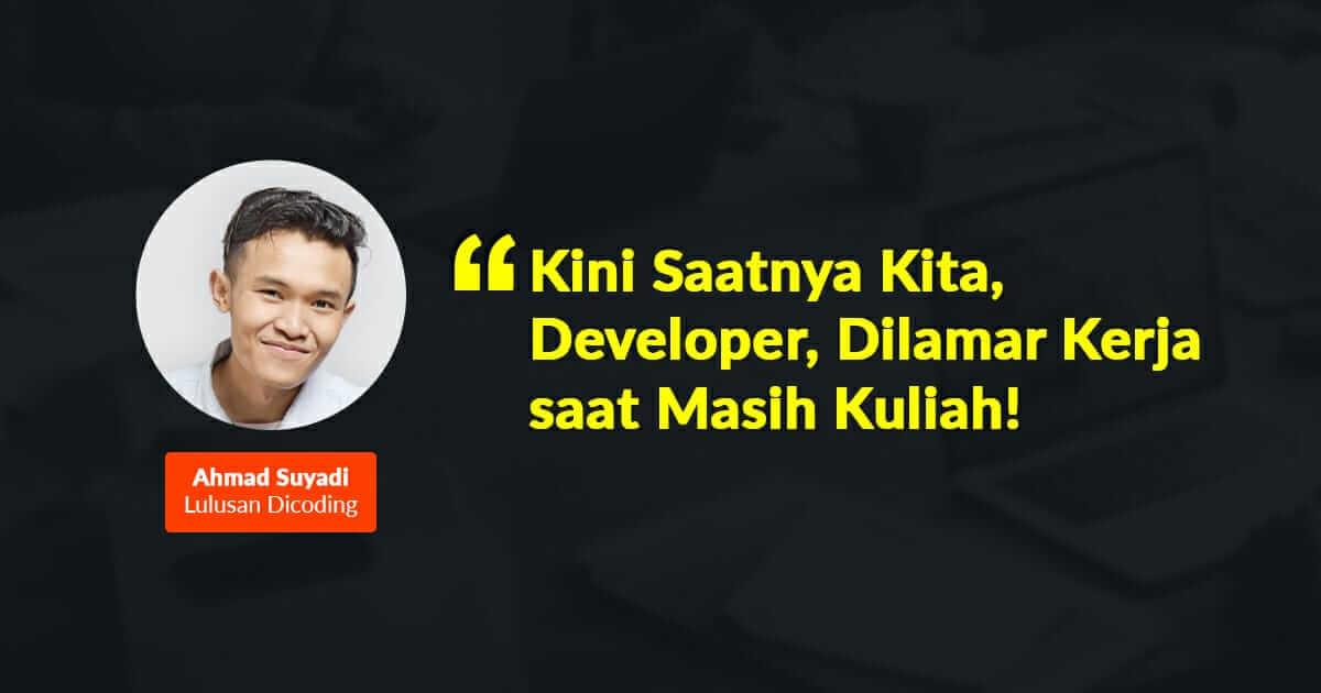 Developer Dilamar Kerja Perusahaan