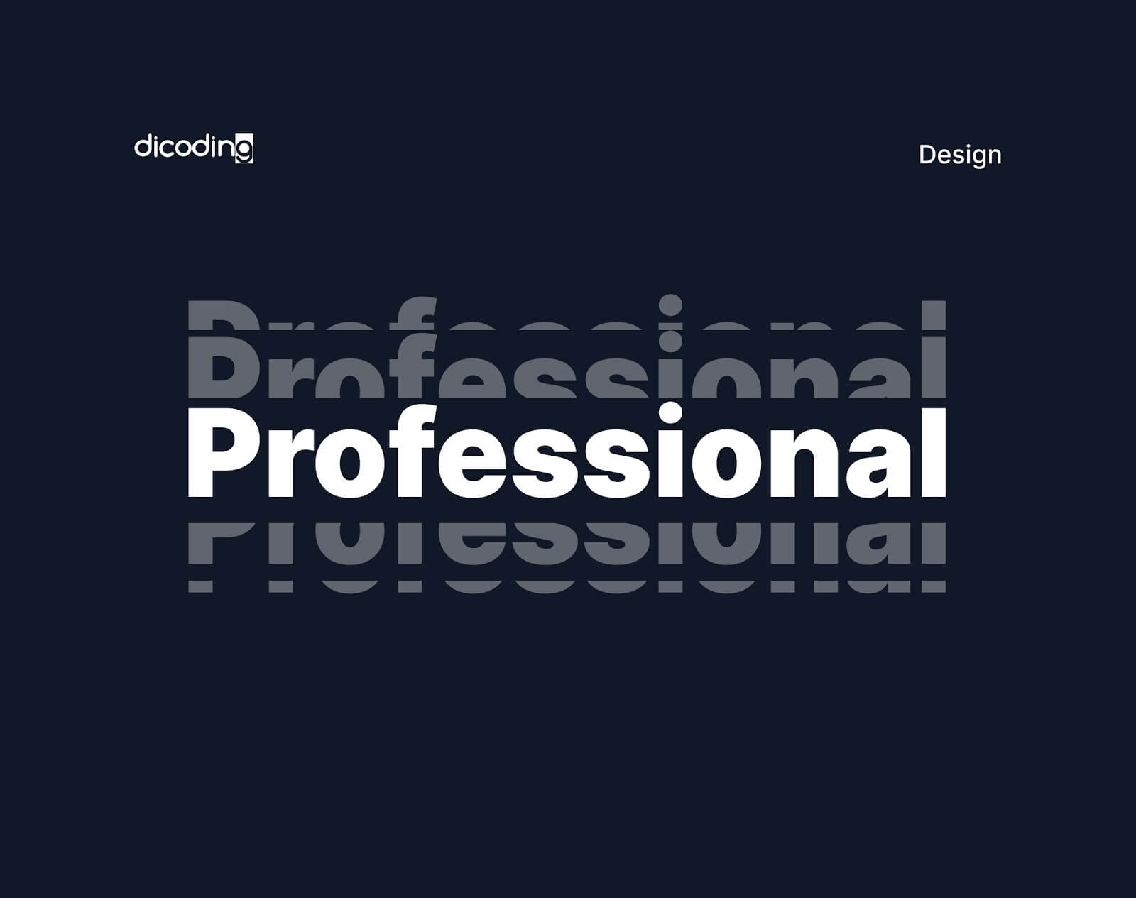 Design Principles-Profesional