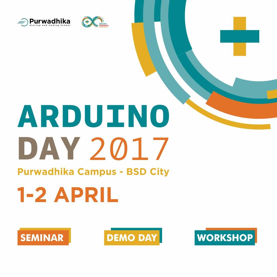 Arduino Day 2017 - 1 & 2 April 2017