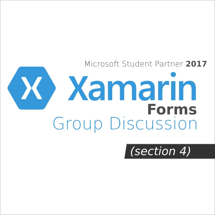 Xamarin Forms - Group Discussion Week 2 Day 2