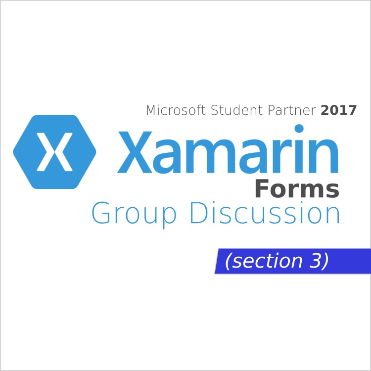 Xamarin Forms - Group Discussion Week 2 Day 1