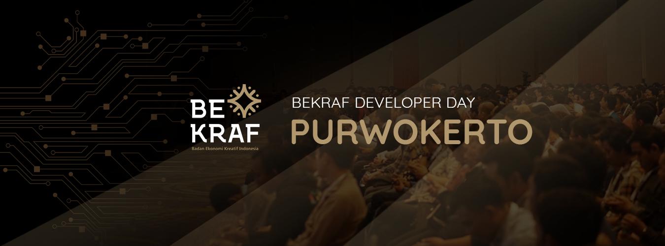 BEKRAF Developer Day 2019 - Purwokerto