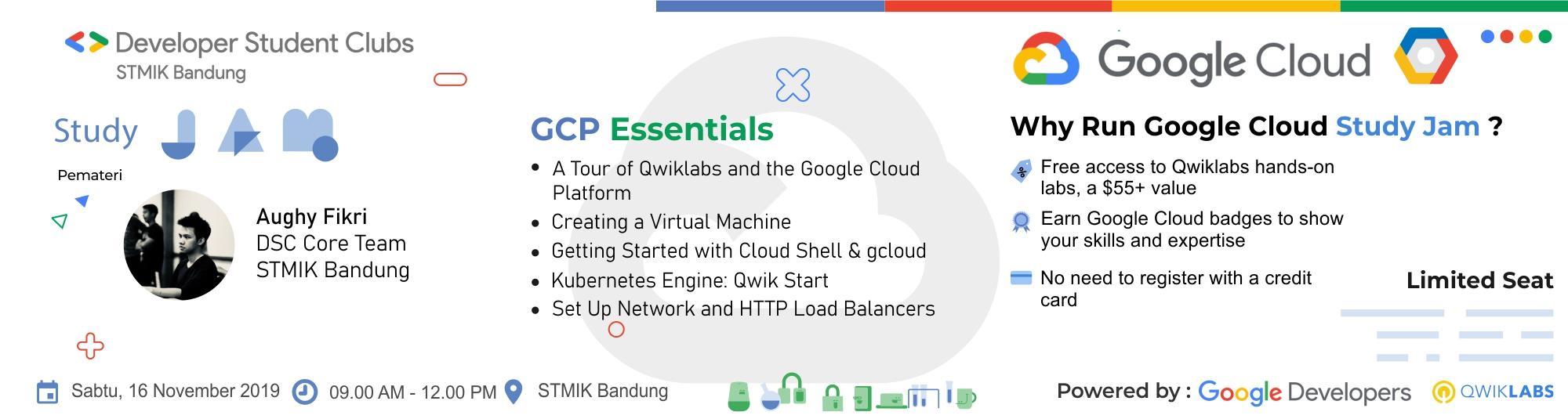 DSC Cloud Study Jam - GCP Essentials
