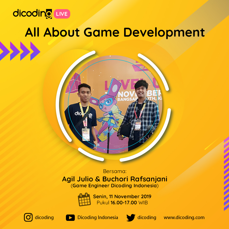 Dicoding LIVE: All About Game Development