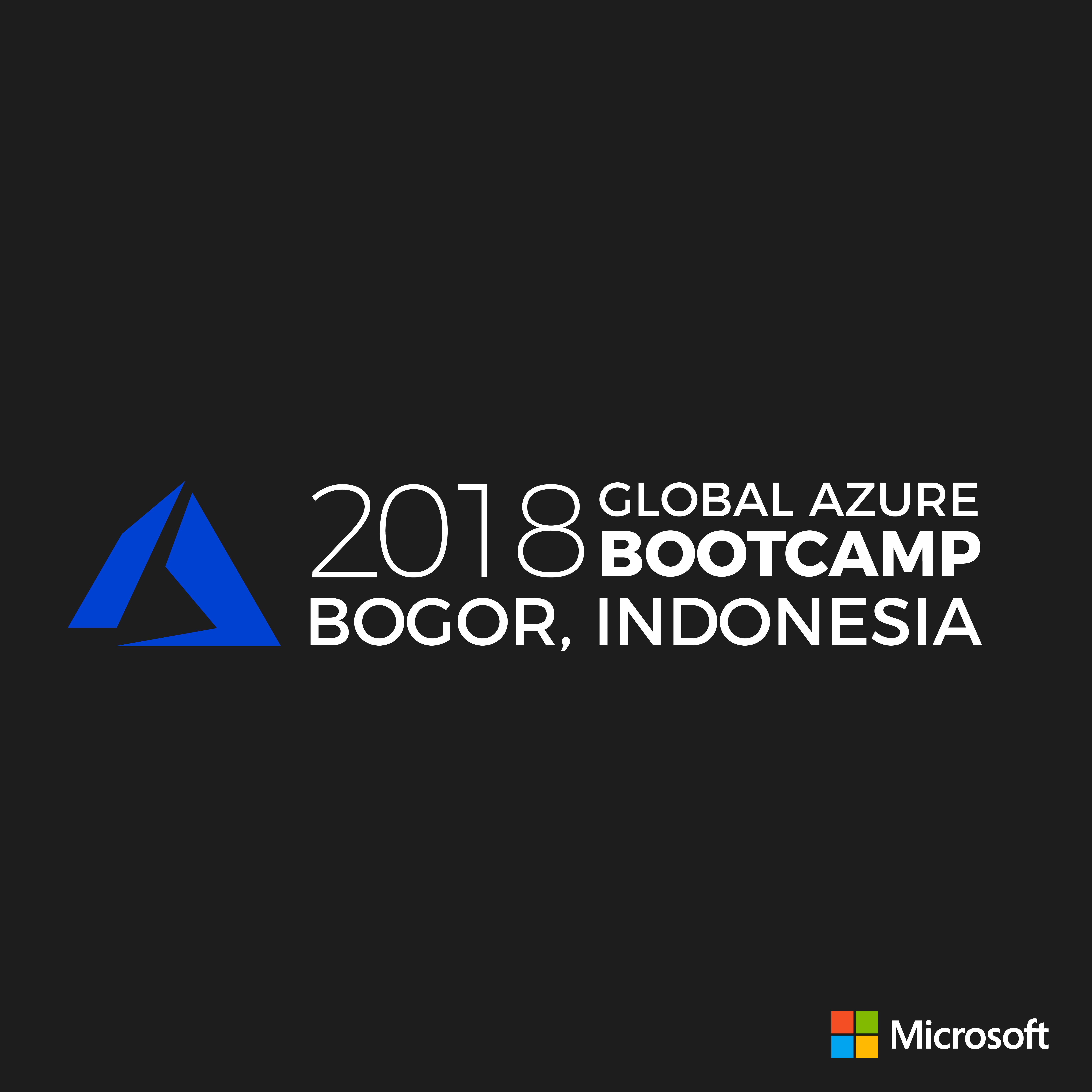 Global Azure Bootcamp 2018 Bogor -Indonesia