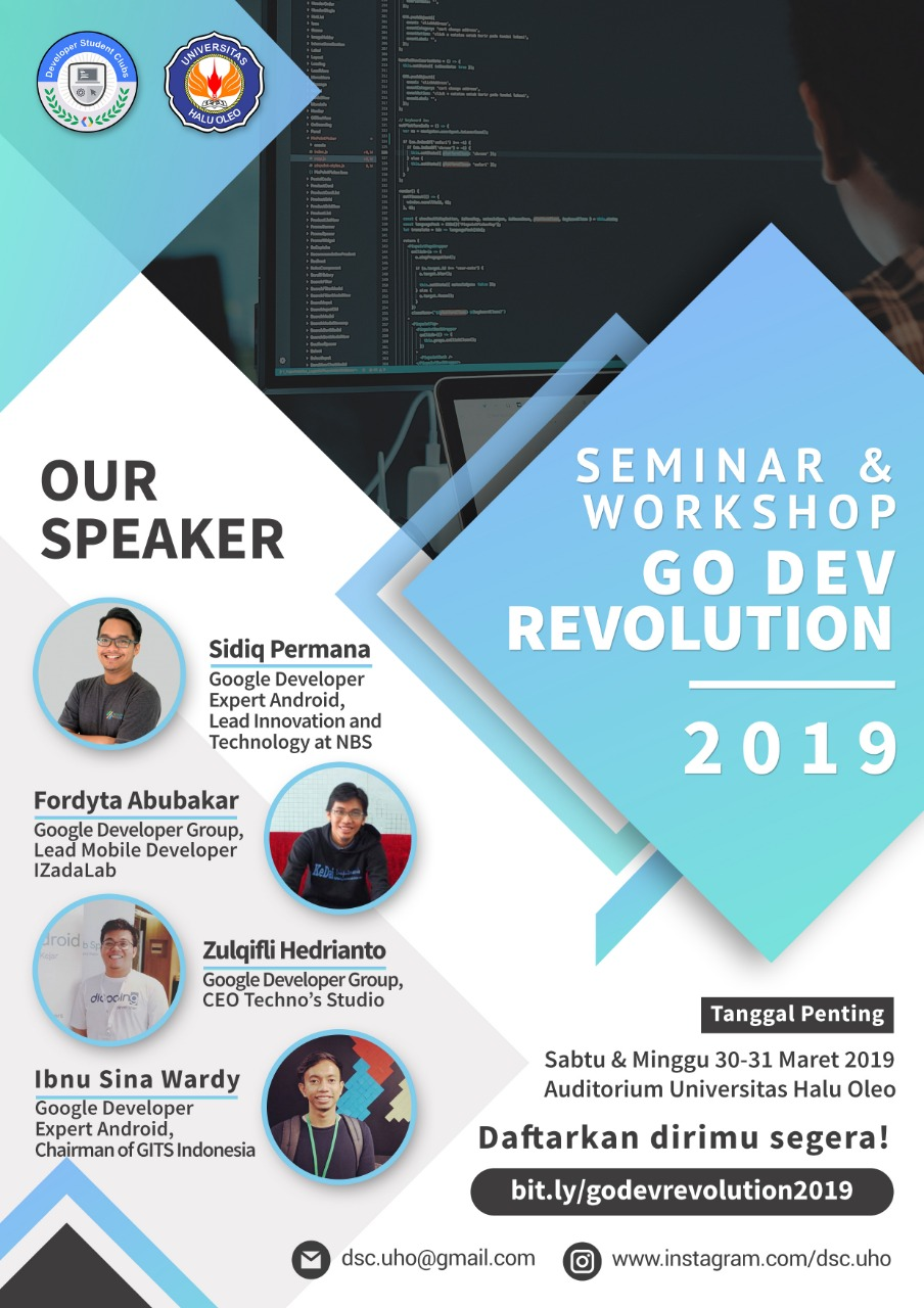 GO DEV REVOLUTION 2019