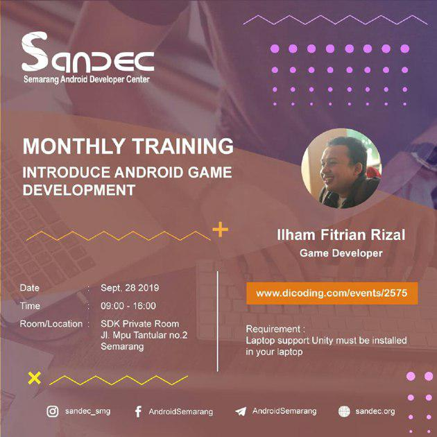 Monthly Training SANDEC #12