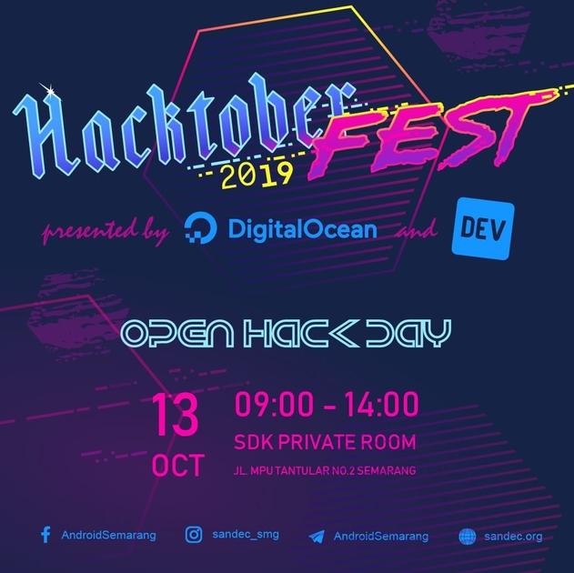 Open Hack Day - Semarang #1 (Hacktoberfest)