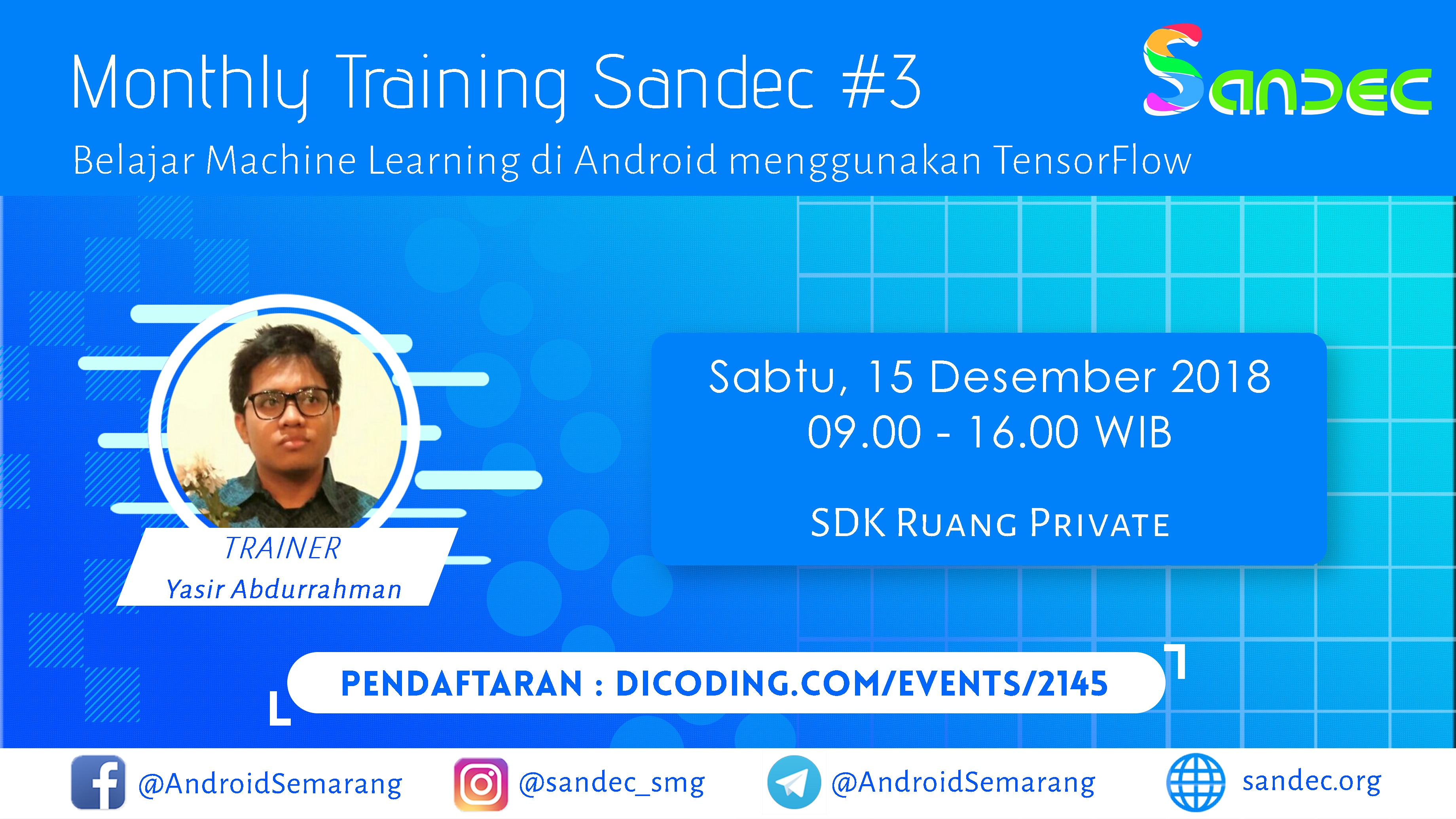 SANDEC Monthly Training #3
