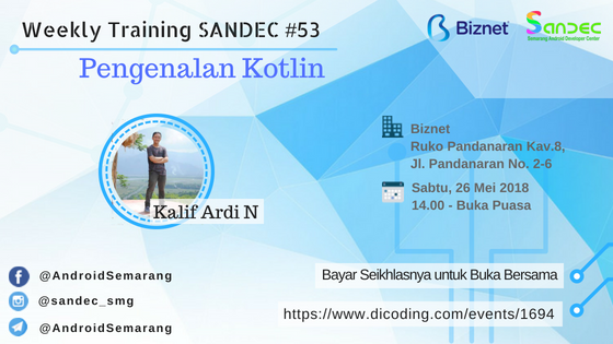 Sandec Weekly Training #53