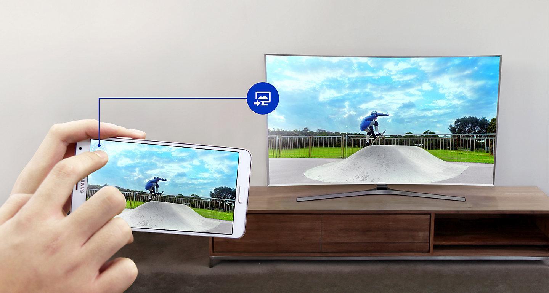 Samsung Curved Smart LED