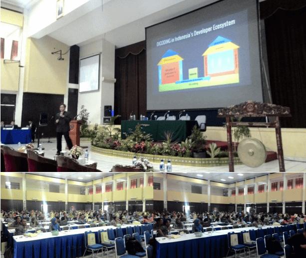 Narenda Wicaksono dalam Sarasehan Prodi Informatika Dan Komputer di Bandung, 6 Maret 2015