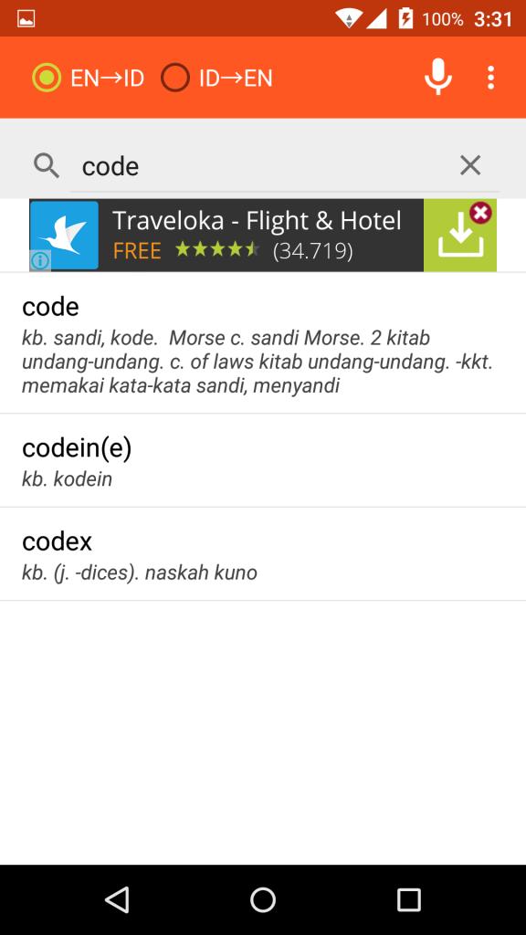 screenshot kamus bahasa inggris 3