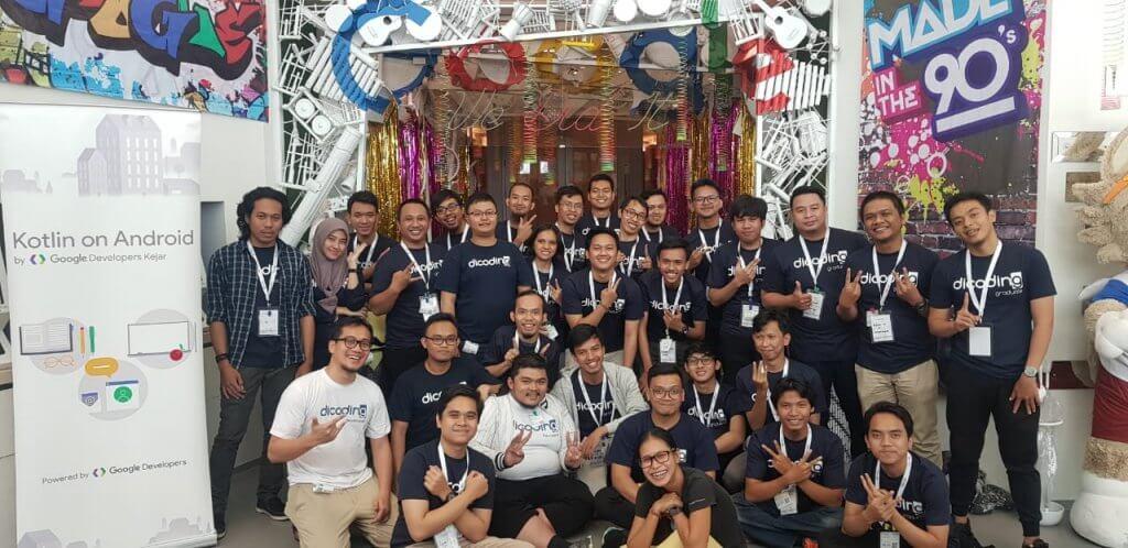 Developer lulusan tercepat kelas kotlin jadi fasilitator Google Developers Kejar