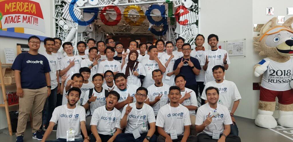 Yuzwan Tumbuh Bersama Menjadi Fasilitator dalam Program Google Developer Kejar (GDK) 2018