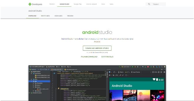 cara instal aplikasi android studio