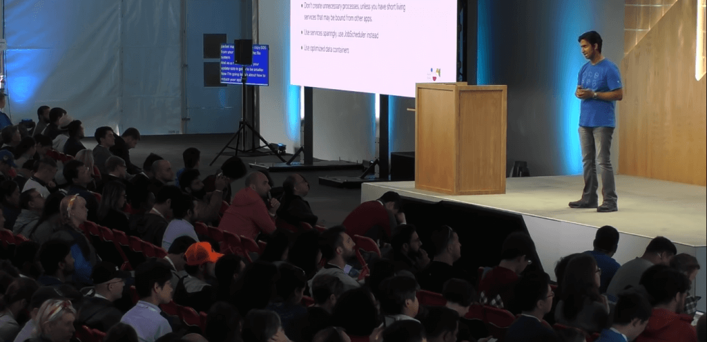 Penonton dengar Google Checklist