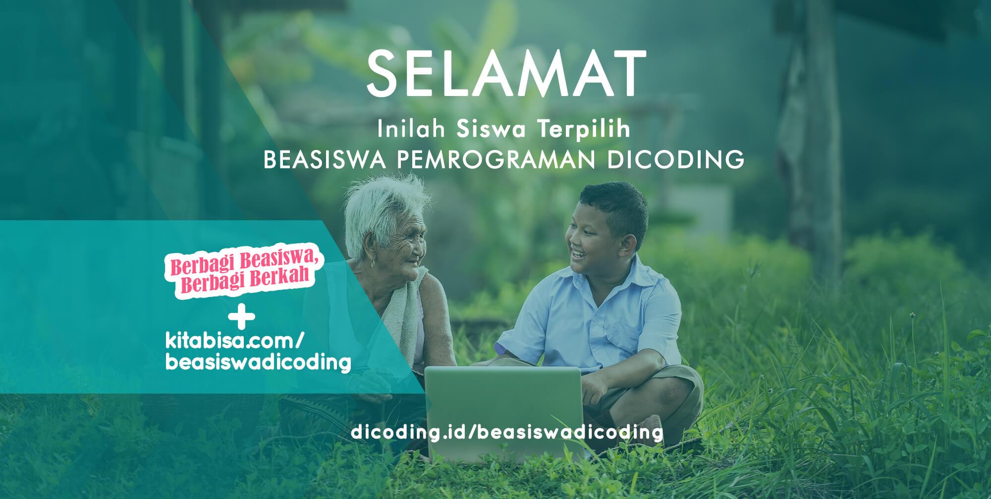 Beasiswa Coding dari Dicoding untuk Indonesia